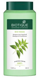 Biotique Bio Neem Margosa Anti Dandruff Shampoo review