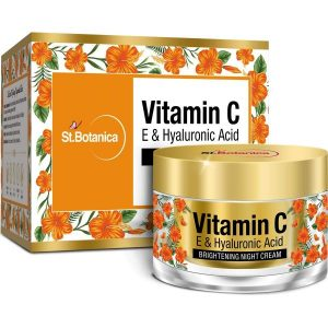 St.Botanica Vitamin C E & Hyaluronic Acid Brightening Night Cream