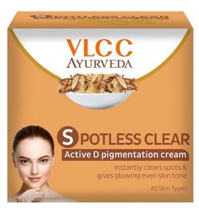 VLCC Ayurveda Potless Clear Active D Pigmentation Cream