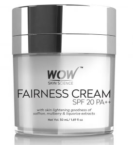 WOW Fairness SPF 20 PA++ No Parabens