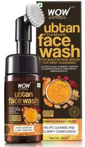 WOW Skin Science Ubtan Foaming Face Wash