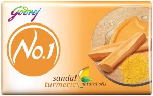 Godrej No.1 Bathing Soap - Sandal & Turmeric