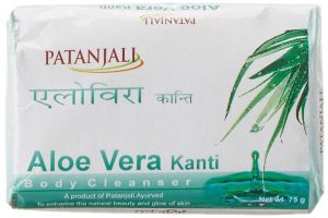 Patanjali Kanti Aloe Vera Body Cleanser Soap
