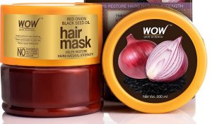 WOW Skin Science Red Onion Black Seed Oil Hair Mask